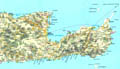 Map of East Crete